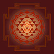 Shree Yantra Art Print