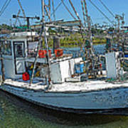 Shrimp Boat - Southern Catch Art Print