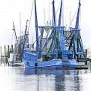 Shrimp Boats Art Print