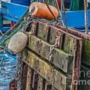 Shrimpboat Tools Of The Trade Art Print