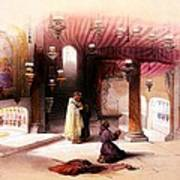 Shrine Of The Nativity Bethlehem April 6th 1839 Art Print