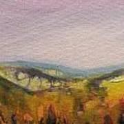Shropshire Hills 4 Art Print