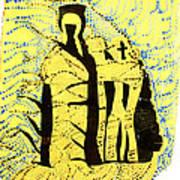 Shroud Of Jesus Art Print