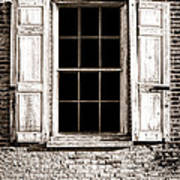 Shutters Art Print by Olivier Le Queinec