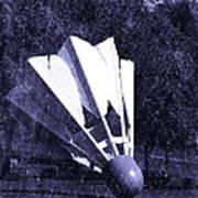 Shuttlecock Blues Art Print