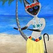 Siamese Queen Of Hawaii Art Print