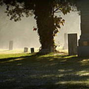 Sibley Cemetery Art Print