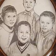 Siblings Art Print