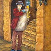 Sicilian Ciaramella Art Print