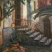 Sicilian Nunnery Art Print