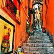 Sicilian Steps Art Print