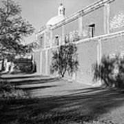 Side View Mission San Jose De Tumacacori Tumacacori Arizona 1979 Art Print