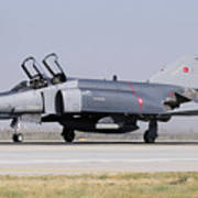 Side View Of A Turkish Air Force Art Print