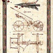 Siege Crossbow Print by Garry Walton
