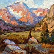 Sierra Nevada Mountains Art Print