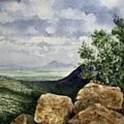 Sierra San Jose From Montezuma Pass Art Print