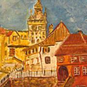 Sighisoara Art Print