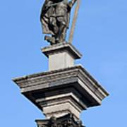 Sigismund's Column In Warsaw Art Print