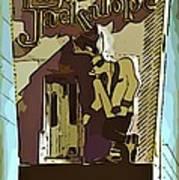 Sign Of The Jackalope Art Print