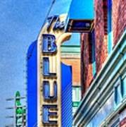 Sign - The Blue Room - Jazz District Art Print