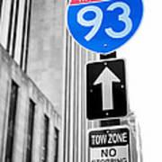 Interstate 93 Art Print