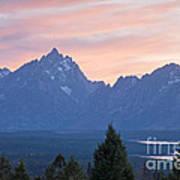 Signal Mountain Grand Teton National Park Art Print