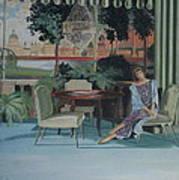 Signora Italiano Art Print