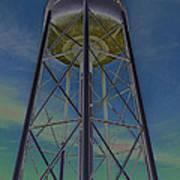 Sikeston Water Tower  II Art Print