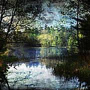 Silent Lake Ludington Michigan Art Print