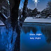 Silent Night Art Print by Betty LaRue