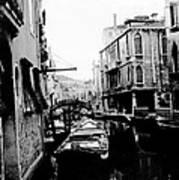 Silenzio Venice Italy Art Print