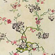 Silk Design Art Print by Anna Maria Garthwaite