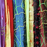 Silk Fabric 01 Art Print