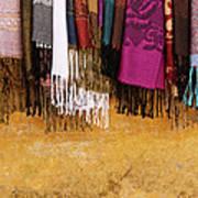 Silk Fabric 02 Art Print