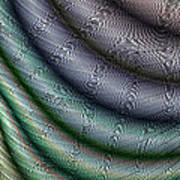 Silk Fabric Art Print