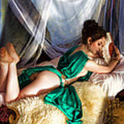 Silken Beauty Print by Waywardimages Waywardimages