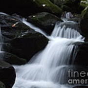 Silky Waterfall Art Print