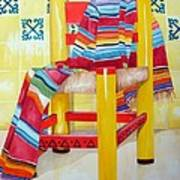 Silla De La Cocina--kitchen Chair Art Print