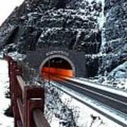 Silver Creek Tunnel Art Print