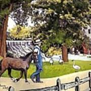 Silver Lake Mill-shenandoah Valley Art Print