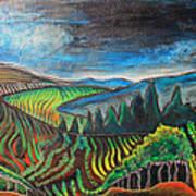 Silverado Trail Art Print
