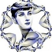Silverscreenstar Audrey Hepburn Art Print