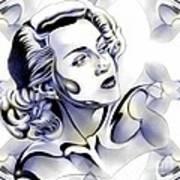 Silverscreenstar Lana Turner Art Print