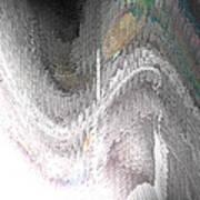Silvershear Art Print