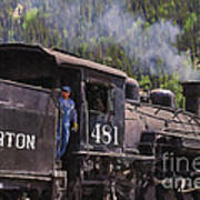 Silverton Engine 481 Art Print