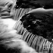 Silvery Falls Art Print