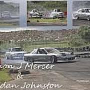 simon Mercer and bredan Johnston Art Print