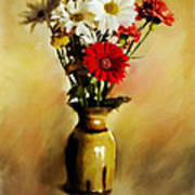 Simple Bouquet Art Print