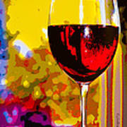 Wine - Simple Life Art Print