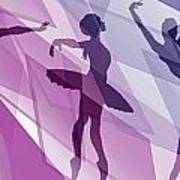 Simply Dancing 1 Art Print
